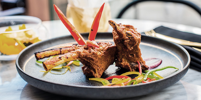 Lamb Chop from Gabbar Bistro & Bar in Clarke Quay, Singapore