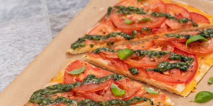 Flatbread from Hard Rock Cafe (Cuscaden) at HPL House in Tanglin, Singapore