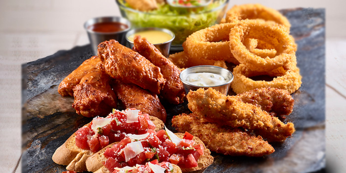 Starters Jumbo Combo from Hard Rock Cafe (Cuscaden) at HPL House in Tanglin, Singapore
