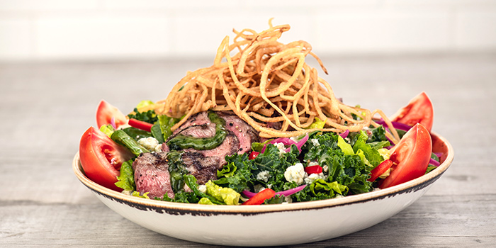 Steak Salad from Hard Rock Cafe (Cuscaden) at HPL House in Tanglin, Singapore
