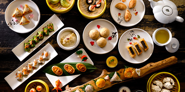 Dim Sum from Hua Ting at Orchard Hotel Singapore in Orchard, Singapore