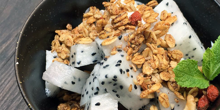 House Made Granola from Kitchen by Food Rebel in Telok Ayer, Singapore
