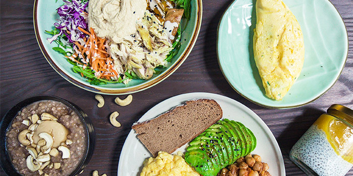 Food Spread from Kitchen by Food Rebel in Telok Ayer, Singapore