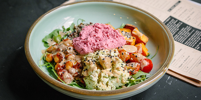 Vegan Buddha Bowl from Kitchen by Food Rebel in Telok Ayer, Singapore