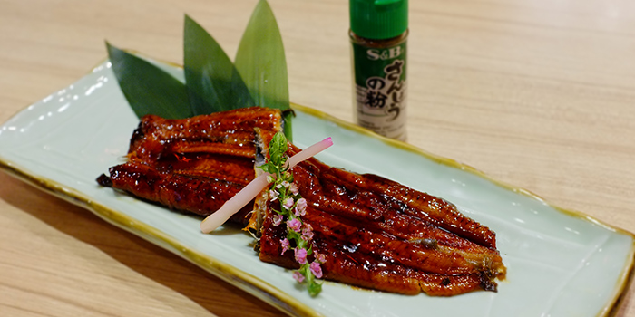 BBQ Eel from Katachi Style Sushi in City Hall, Singapore