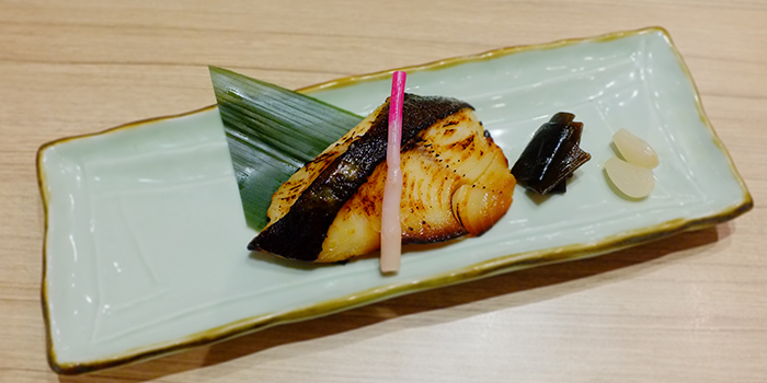 Grilled Black Cod with Miso Sauce from Katachi Style Sushi in City Hall, Singapore