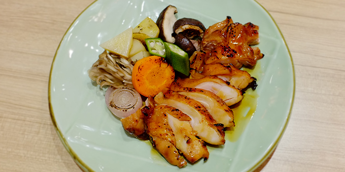 Grilled Chicken Teriyaki from Katachi Style Sushi in City Hall, Singapore