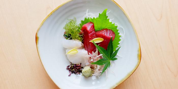 Sashimi from Katachi Style Sushi in City Hall, Singapore