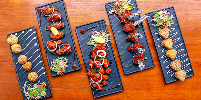 Appetizers from Kitchen Kumars in Duxton, Singapore