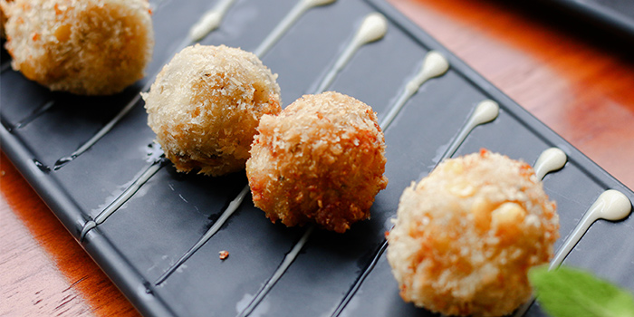 Cheesy Corn Balls from Kitchen Kumars in Duxton, Singapore