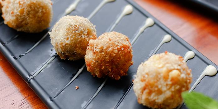 Cheesy Corn Balls from Kitchen Kumars in Duxton, Singapore