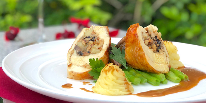 Roulade of Guinea Fowl (1-24 Dec) from L