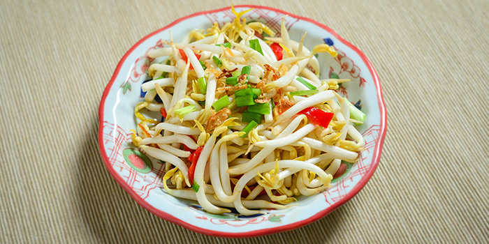 Bean Sprouts from MooTeow Chilli Beef Kway Teow in Boat Quay, Singapore