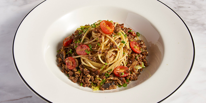 Impossible Teriyaki Spaghetti from PizzaExpress (Scotts Square) in Orchard, Singapore