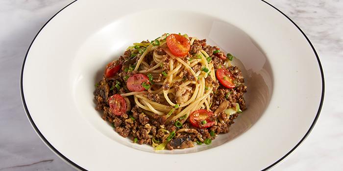 Impossible Teriyaki Spaghetti from PizzaExpress (Jewel) in Changi, Singapore