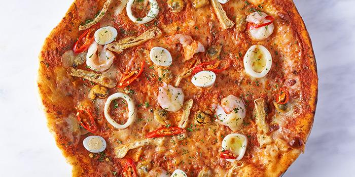 Laksa from PizzaExpress (Marina One) in Marina Bay, Singapore