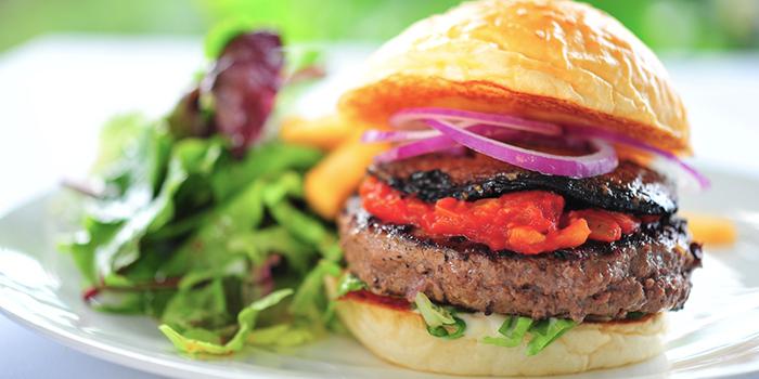 Hello Portobello Burger from Privé Tiong Bahru at Block 57 in Tiong Bahru, Singapore