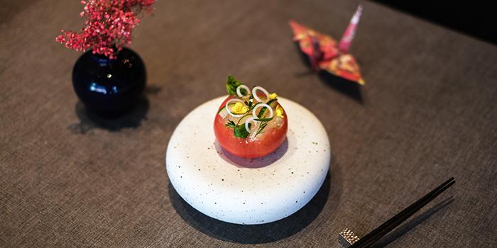 Zuwai Crab, Tomato Herbs from RIZU in Duxton, Singapore