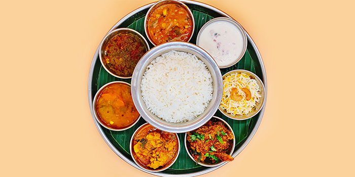 Chicken Set Meal from Sri Kumbhakarna (Race Course Road) in Little India, Singapore