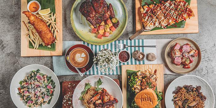 Food Spread from Telok Ayer Arts Club in Telok Ayer, Singapore
