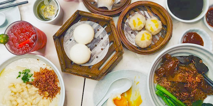 Assorted Food from The Dim Sum Place in Bugis, Singapore