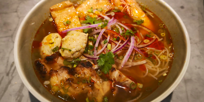 Bun Rieu from The Fat Chook Company in Queenstown, Singapore