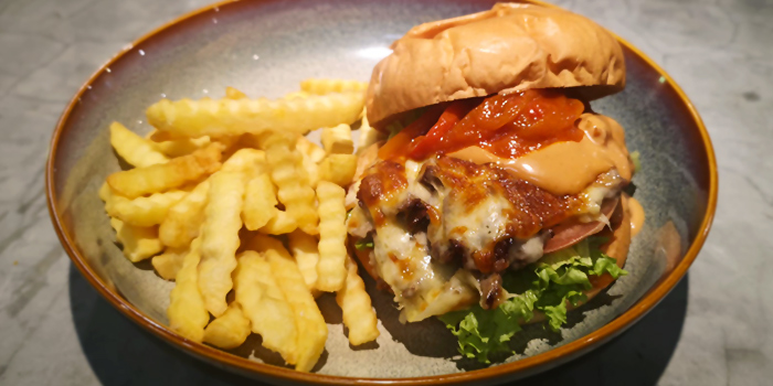 Pork Belly Burger from The Fat Chook Company in Queenstown, Singapore
