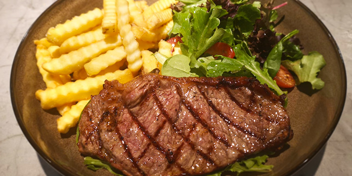 Sirloin Steak from The Fat Chook Company in Queenstown, Singapore