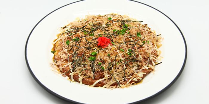Okonomiyaki from The Ramen Stall in Bugis, Singapore