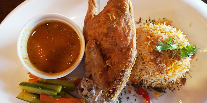 Spring Chicken Basmati from The Tipsy Cow (Central) in Clarke Quay, Singapore