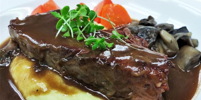 Braised Beef Ribs from Temasek Culinary Academy The Top Table at Temasek Culinary Academy in Tampines, Singapore