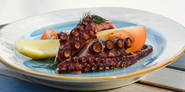 Octopus from Zorba The Greek Taverna in Clarke Quay, Singapore