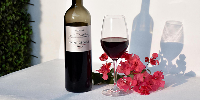 Red Wine from Zorba The Greek Taverna in Clarke Quay, Singapore