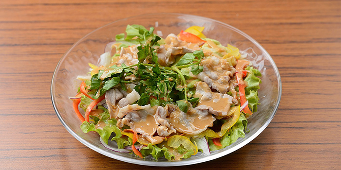 Salad from TEN Sushi in Robertson Quay, Singapore