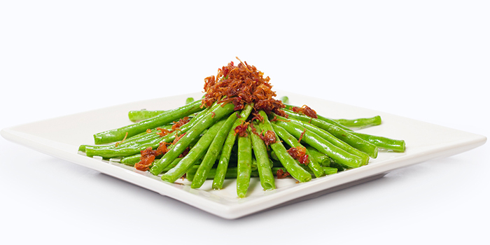 Sautéed French Bean with XO Sauce XO from Dian Xiao Er (Waterway Point) in Punggol, Singapore