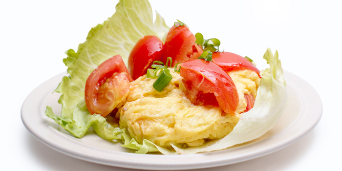 Scrambled Eggs with Fresh Tomatoes from Dian Xiao Er (Waterway Point) in Punggol, Singapore