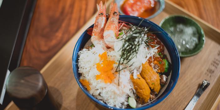 Seafood Rice Bowl, Umimachidon, Kowloon Bay, Hong Kong