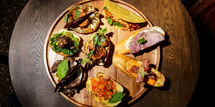 Selection of Food from Olá Thai Tapas Bar And Cafe at 18, 1 Charoen Krung Rd Wang Burapha Phirom, Phra Nakhon Bangkok