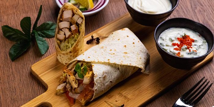 Shawarma from Atrium Restaurant in Holiday Inn Singapore Atrium in Outram, Singapore