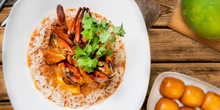 Signature Chilli Pomelo Crab from Blue Lotus @ Sentosa Cove in Sentosa, Singapore