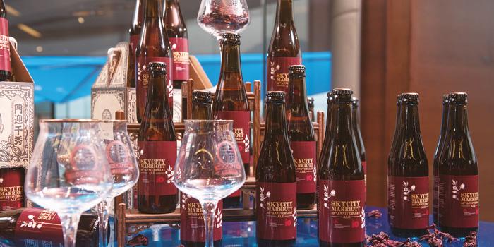 SkyCity Ale Draft Beer, Velocity Bar & Grill, Chek Lap Kok, Hong Kong