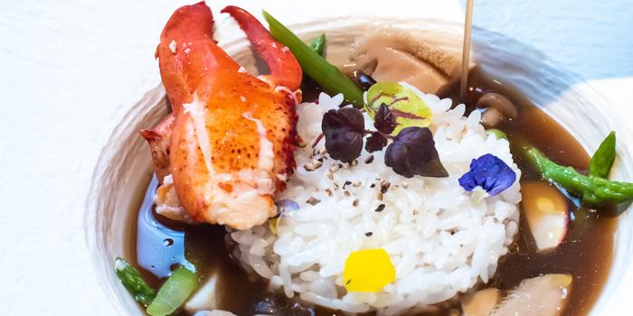 Soup Rice, Reign The Abalone House (Tsim Sha Tsui), Hong Kong