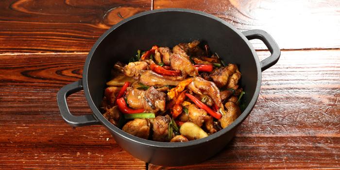 Spicy Chicken Hot Pot, Palman Chongqing Hotpot, Jordon, Hong Kong
