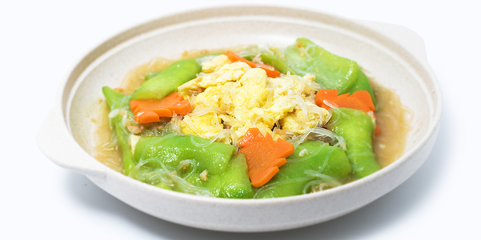 Stir Fried Gourd w Glass Noodles and Egg from Dian Xiao Er (NEX) in Serangoon, Singapore