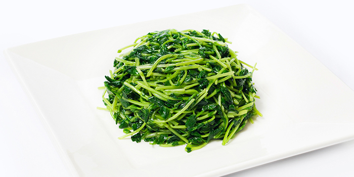 Stir Fried Pea Pod Tips from Dian Xiao Er (NEX) in Serangoon, Singapore