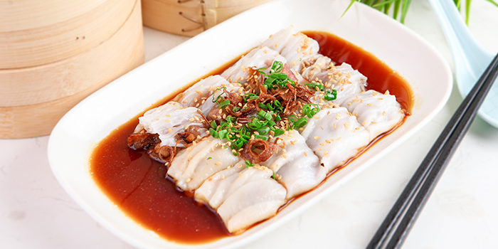 Vermicelli Roll with Roast Duck from The Dim Sum Place in Bugis, Singapore
