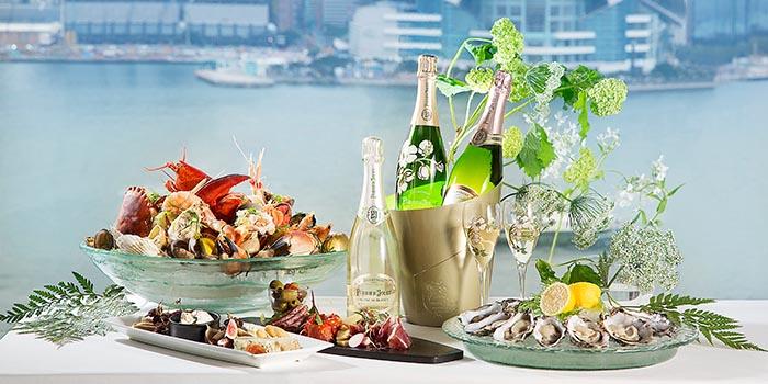 Perrier Jouet Sunday Brunch, Oyster & Wine Bar, Tsim Sha Tsui, Hong Kong