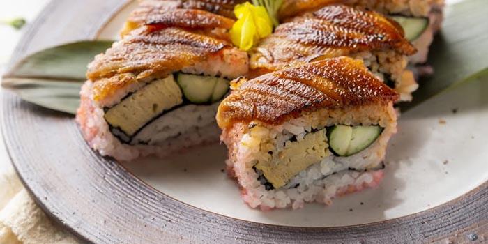 Eel Sushi Roll, S2 Kitchen, Central, Hong Kong
