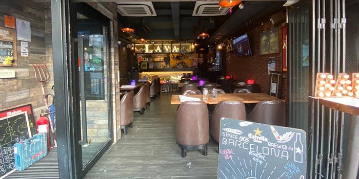 Interior, Lava Bar & Restaurant, Prince Edward, Hong Kong