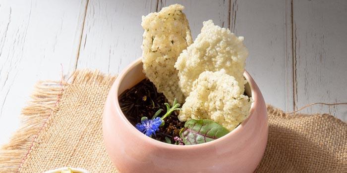 Crispy Pork Skin, Figs Jam, Truffle, Ham, Lava Bar & Restaurant, Prince Edward, Hong Kong